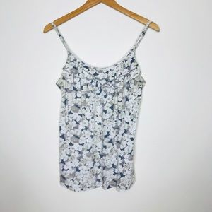 Old Navy Floral Tank Size Large
